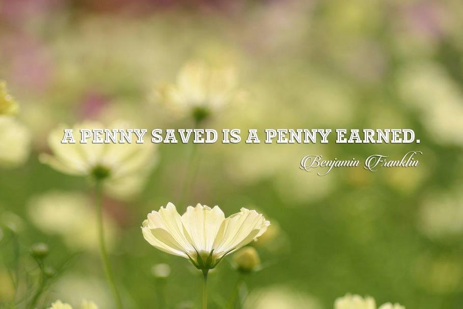 những câu nói hay về tiết kiệm