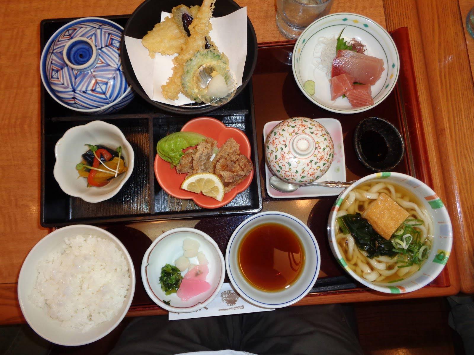 thức ăn của người Nhật
