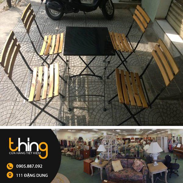 bàn ghế cafe thanh lý 2