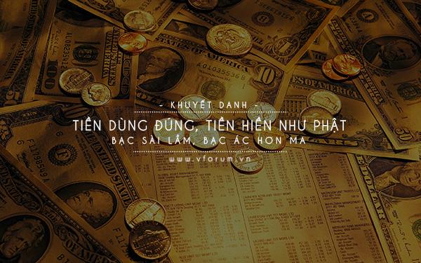 trích dẫn về tiền