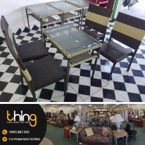bàn ghế mây tại Đà Nẵng