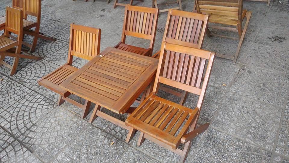 bàn ghế cafe xếp Đà Nẵng