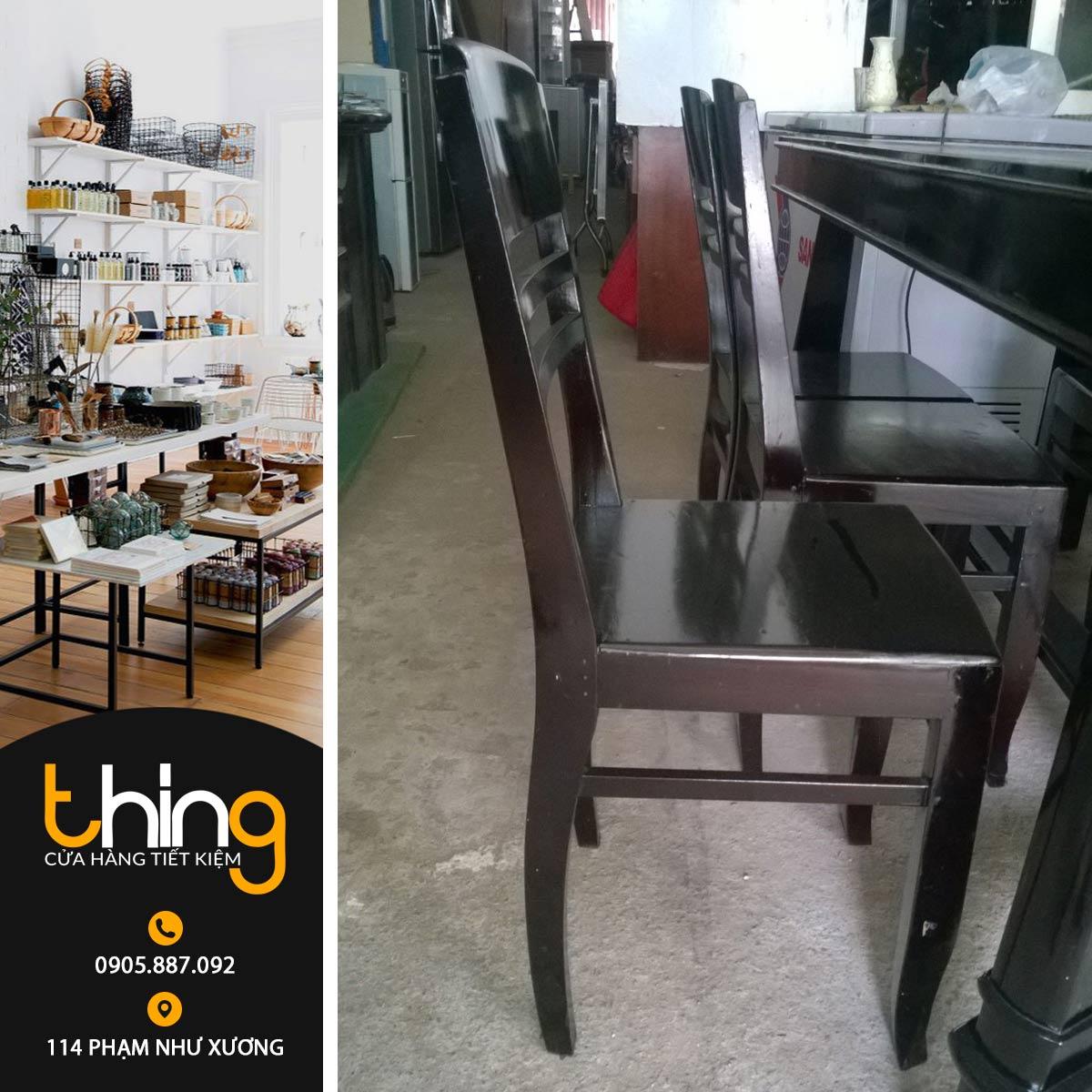 ghế gỗ phòng ăn