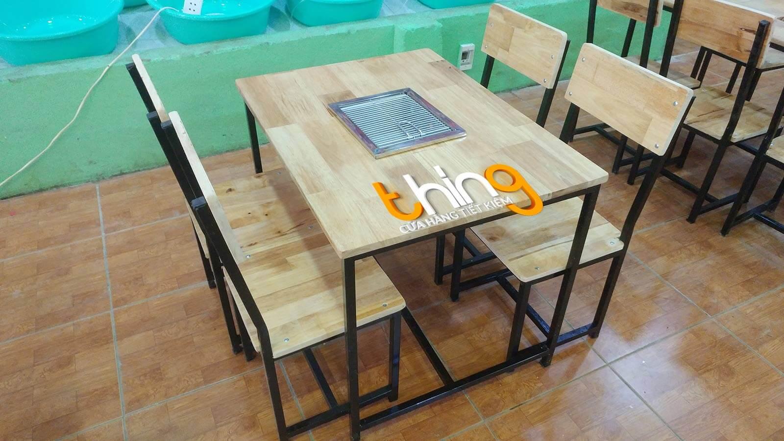 bàn ghế quán nhậu thanh lý