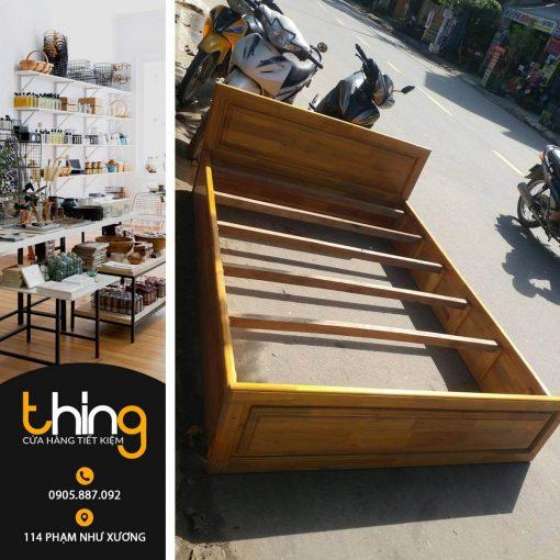 giường gỗ cũ Đà Nẵng