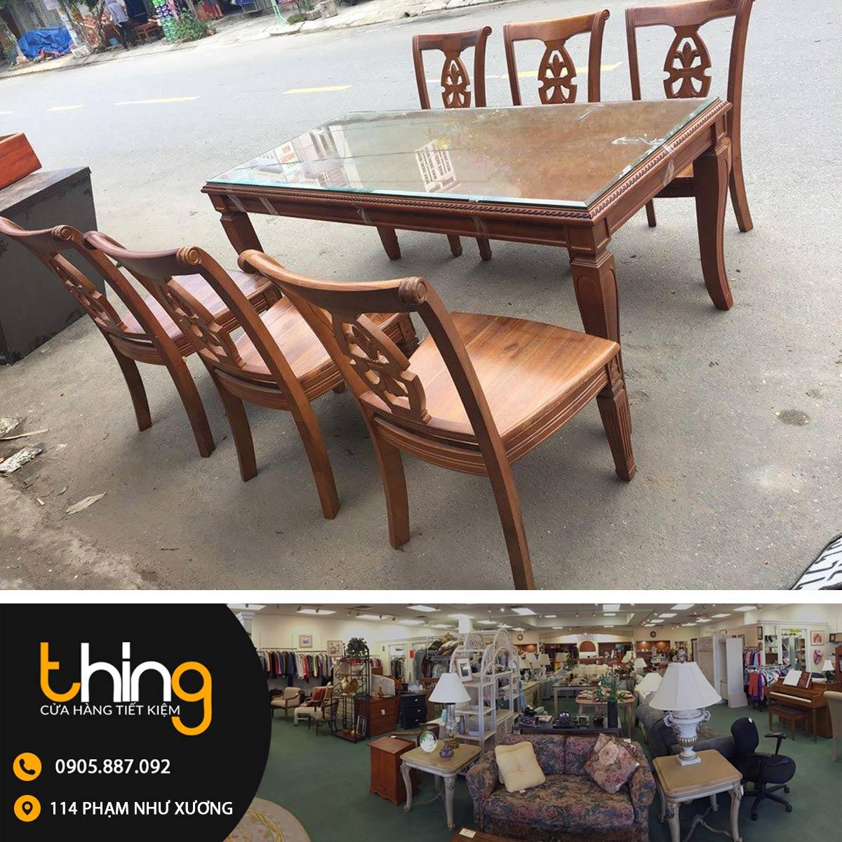 bàn ăn gỗ Đà Nẵng