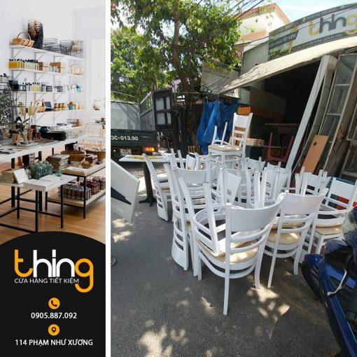 7 bộ bàn ghế cafe thanh lý