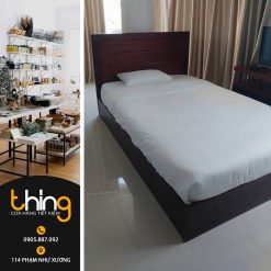 Thanh lý giường gỗ 1m2 x 2m