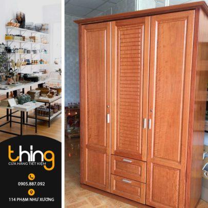 tủ quần áo gỗ tự nhiên tại Đà Nẵng