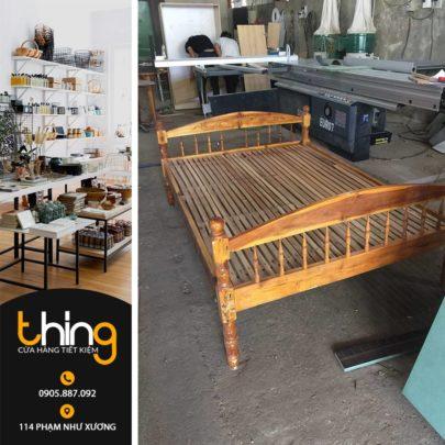 giường gỗ thanh lý tại Đà Nẵng